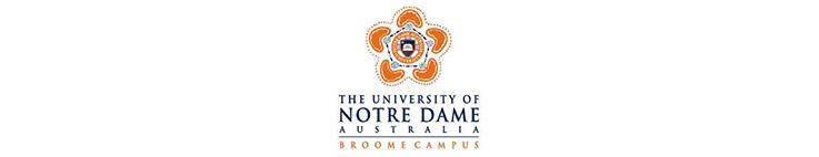 The University of Notre Dame Australia logo banner illuminance Solutions website Broome banner