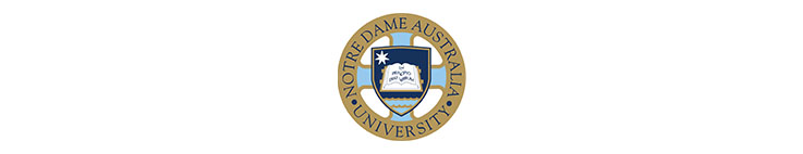 The University of Notre Dame Australia logo banner illuminance Solutions website banner