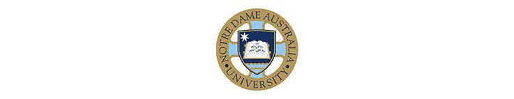 The University of Notre Dame Australia logo banner illuminance Solutions website banner