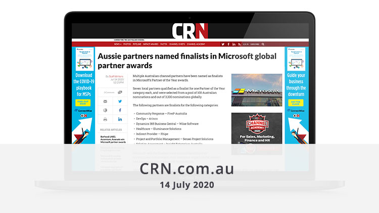 Featured image CRN 15 July 2020 media page