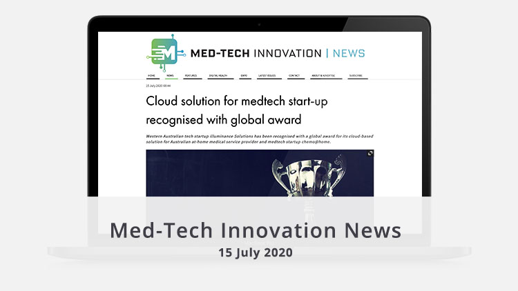 Featured image MedTech Innovation News 15 July 2020 homepage