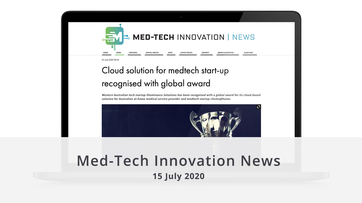 Featured image MedTech Innovation News 15 July 2020