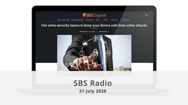 Media featured image SBS Radio 31 July 2020 illuminance Solutions