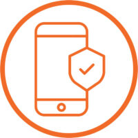 Secure devices icon