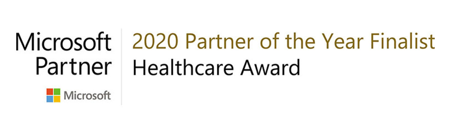 Microsoft Partner of the Year 2020 Finalist Health Category