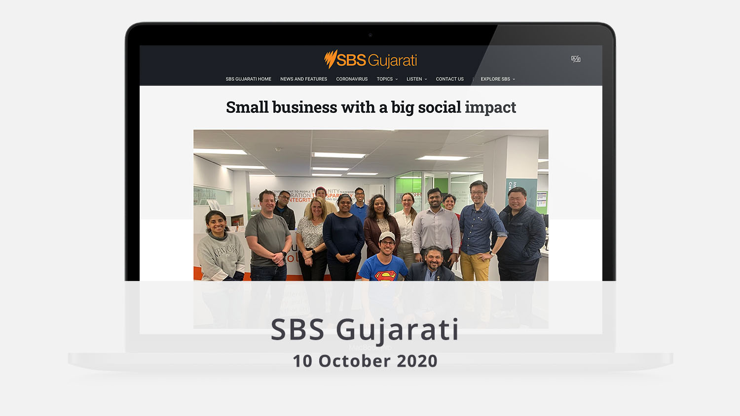 SBS Gujarati Small Business with a big social impact illuminance Solutions Nilesh Makwana