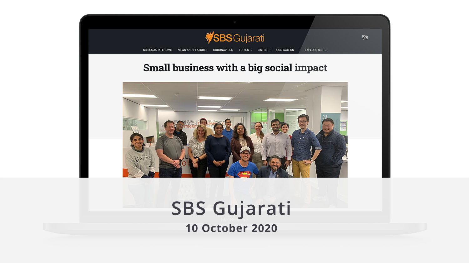 SBS Gujarati Small Business with a big social impact illuminance Solutions