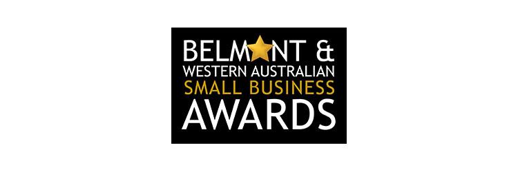 Belmont & WA Small Business Awards logo