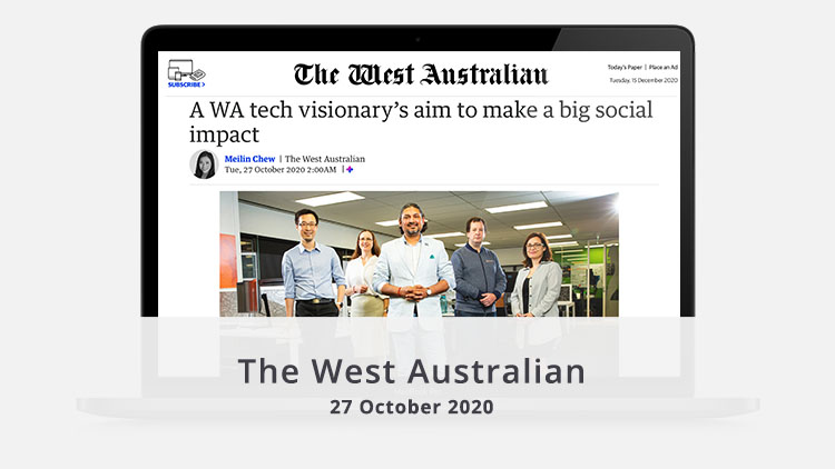 The West Australian article October 2020