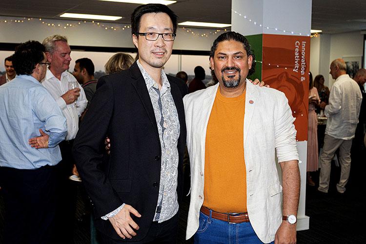 Vincent Lam and Nilesh Makwana illuminance Solutions' directors