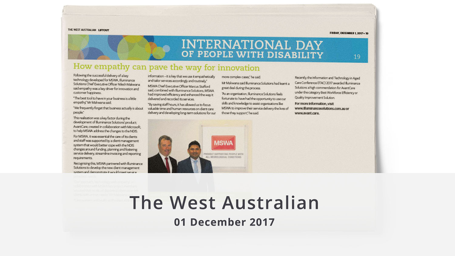 MSWA article The West Australian illuminance Solutions featured image
