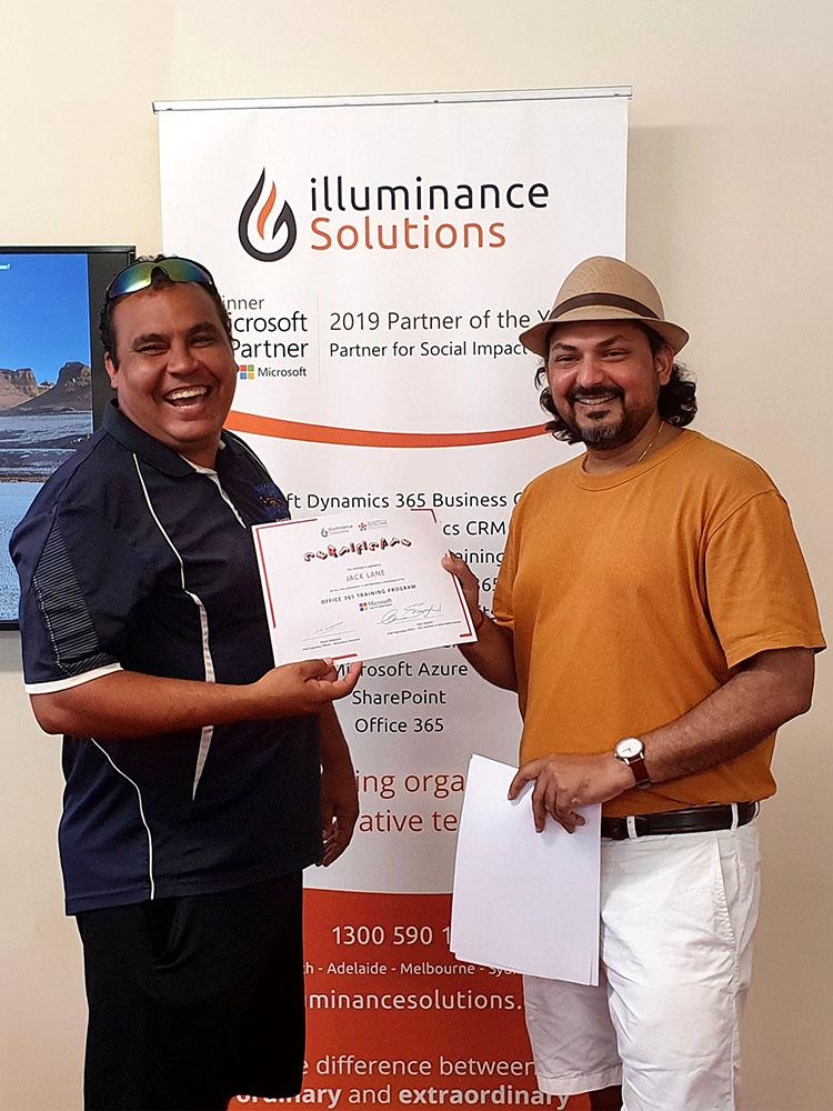 Broome illuminance training web