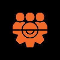 Customer service icon illuminance training