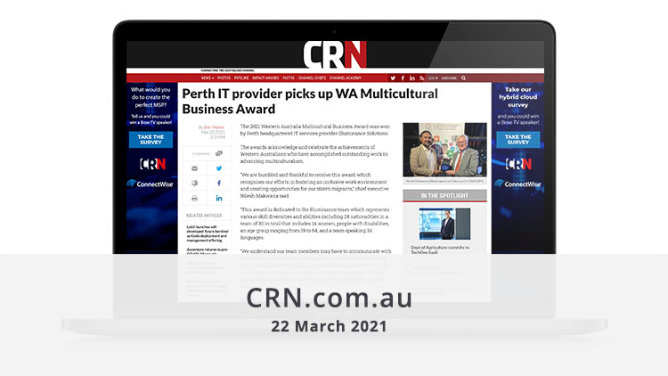 Featured image CRN 22 March 2021