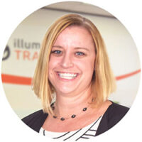illuminance Trainer profile Rebecca Hall