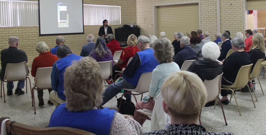 Seniors training featured image