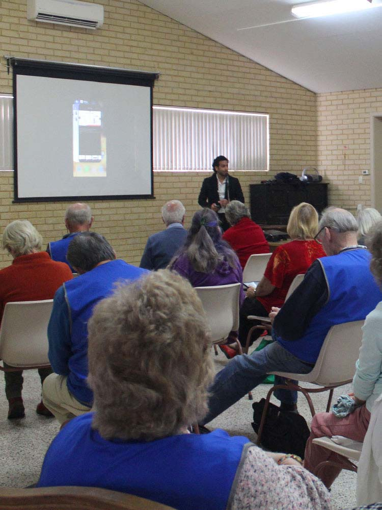 Switched on seniors illuminance training web