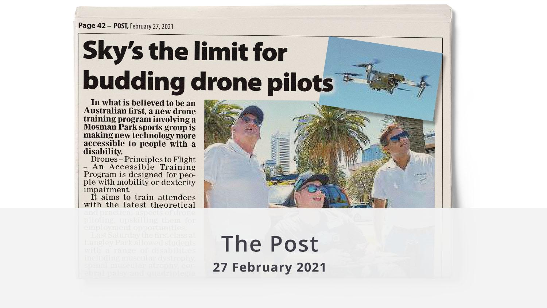 The Post drone training February 2021 illuminance Solutions