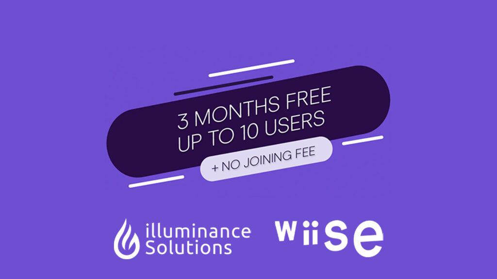 illuminance Solutions Wiise Hero Partner EOFY 2021 offer